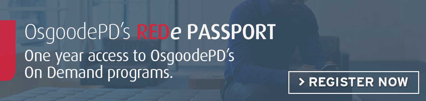 REDe Passport | Register Now